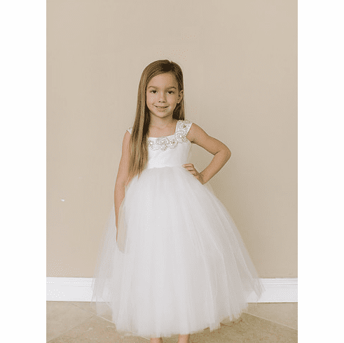 Amalee Accessories Flower Girl Dress <br>Style FG125