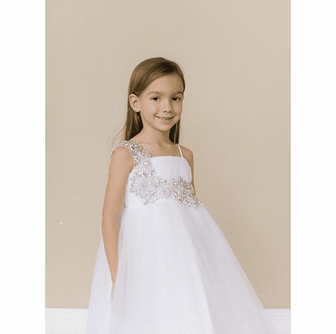 Amalee Accessories Flower Girl Dress <br>Style FG129