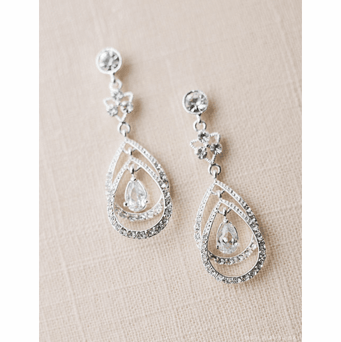 Bel Aire Bridal Earrings EA209