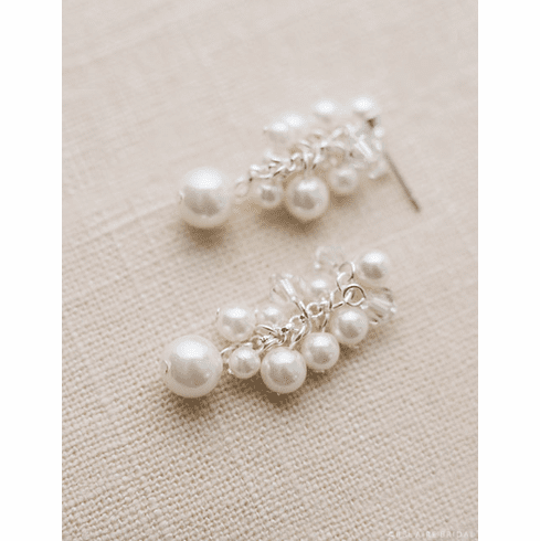 Bel Aire Bridal Earrings EA226