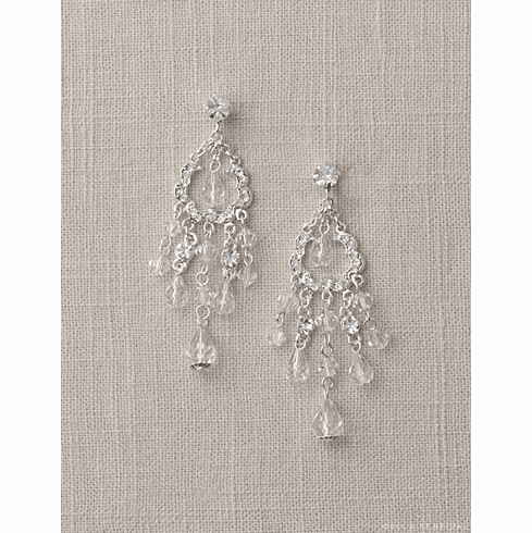 Bel Aire Bridal Earrings EA231