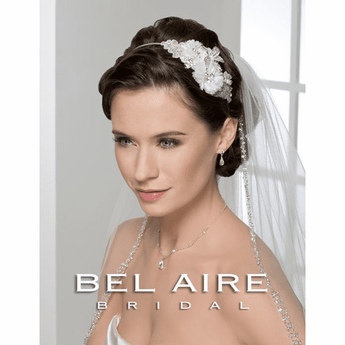 Bel Aire Bridal Headband 6227
