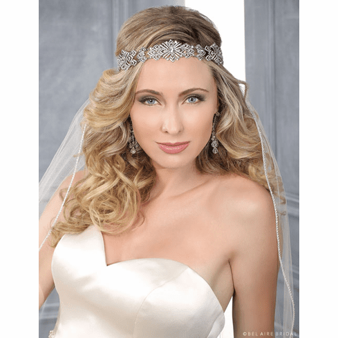 Bel Aire Bridal Headband 6400