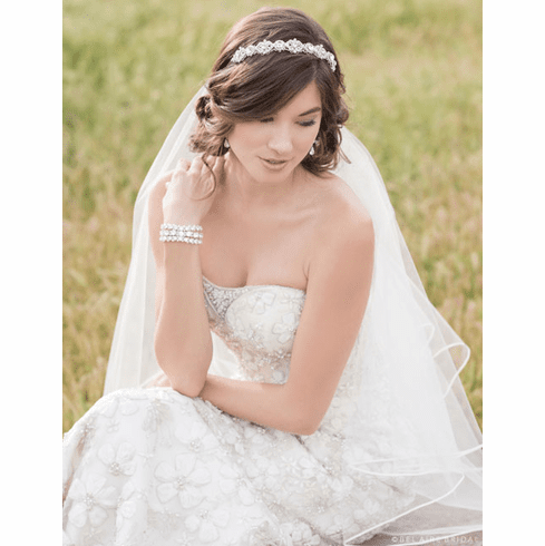 Bel Aire Bridal Headband 6514