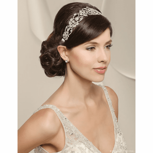Bel Aire Bridal Headband 6518