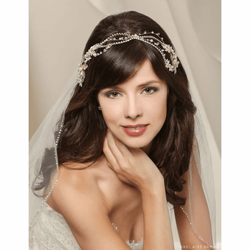 Bel Aire Bridal Headband 6535