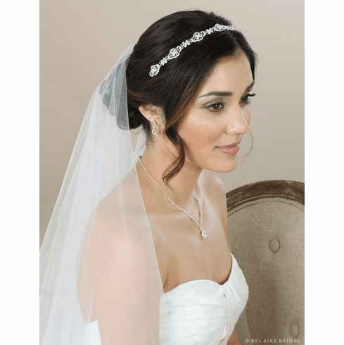 Bel Aire Bridal Headband 6585