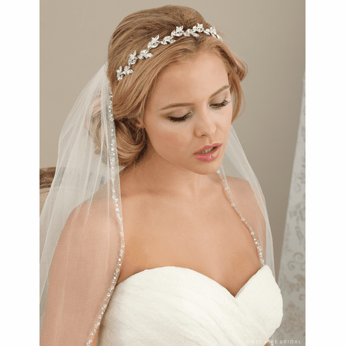 Bel Aire Bridal Headband 6614