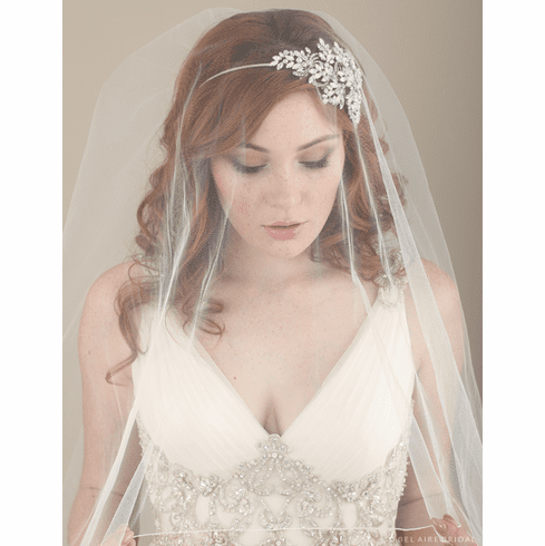 Bel Aire Bridal Headband 6615