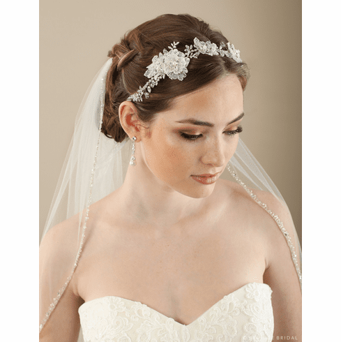 Bel Aire Bridal Headband 6649