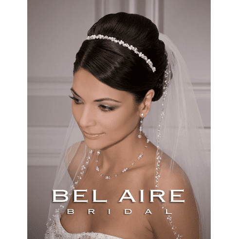 Bel Aire Bridal Headband 8709