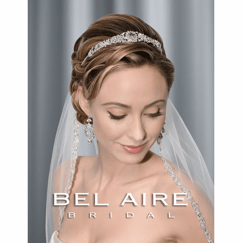 Bel Aire Bridal Headband6300