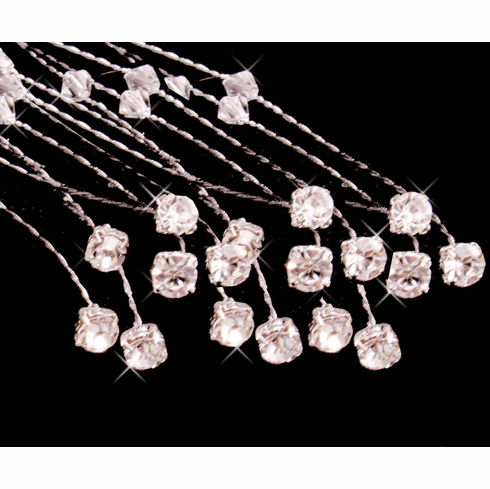 Crystal and Rhinestone Bouquet Jewelry