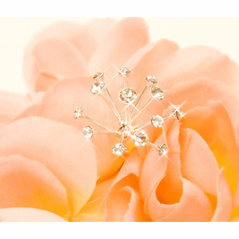 Crystal Glow Sprays Bouquet Jewelry