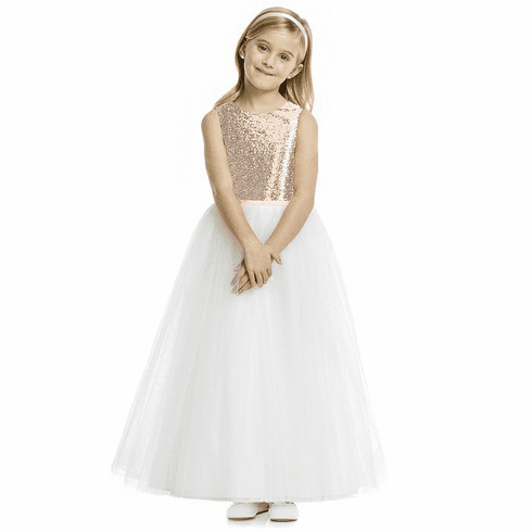 Dessy Flower Girl Dress FL4057