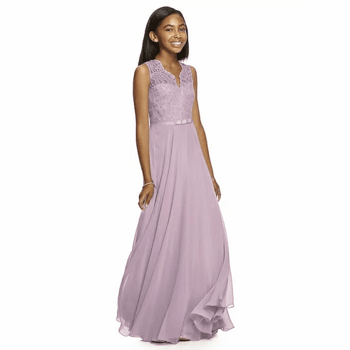 Dessy Junior Bridesmaid Dress Style JR532
