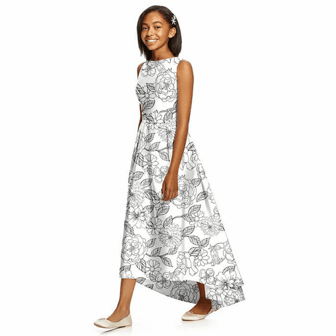 Dessy Junior Bridesmaid Dress Style JR534FP