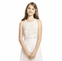 b87304d7690 Dessy Junior Bridesmaid Separate Style JRT538