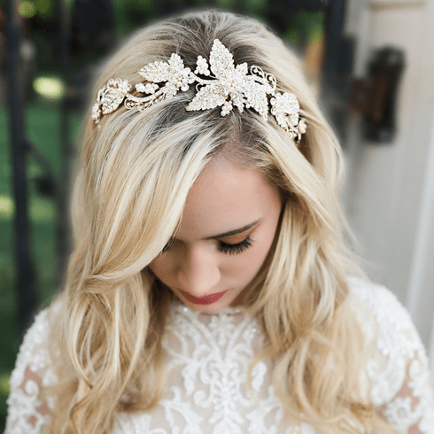 En Vogue Bridal Headband HB1917