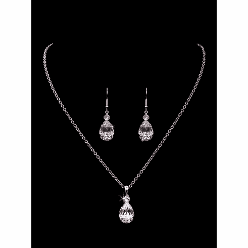 En Vogue Bridal Necklace Set - NL1808