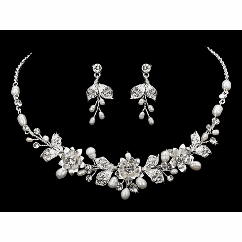 En Vogue Bridal Necklace Set - NL1857