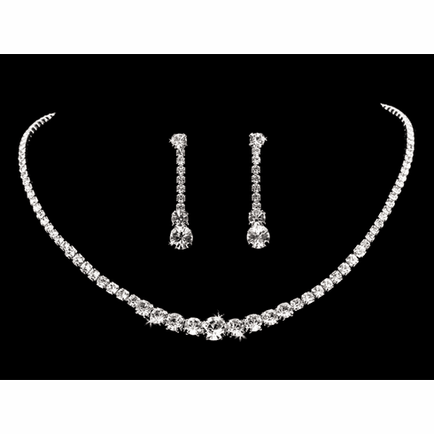 En Vogue Bridal Necklace Set - NL1862