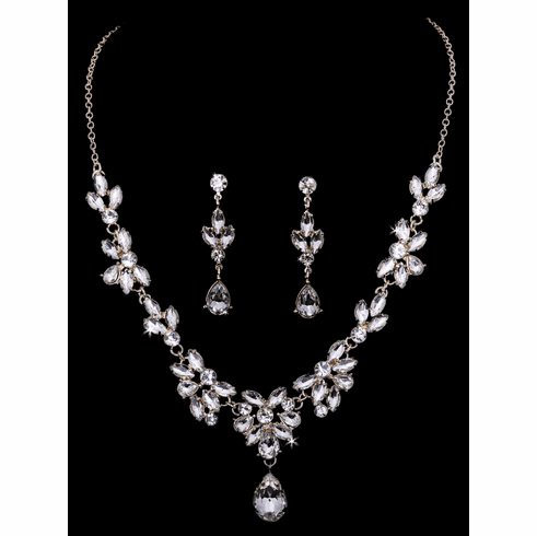En Vogue Bridal Necklace Set - NL1950