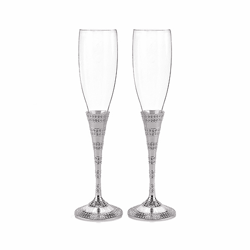 Enchanting Crystal Flutes