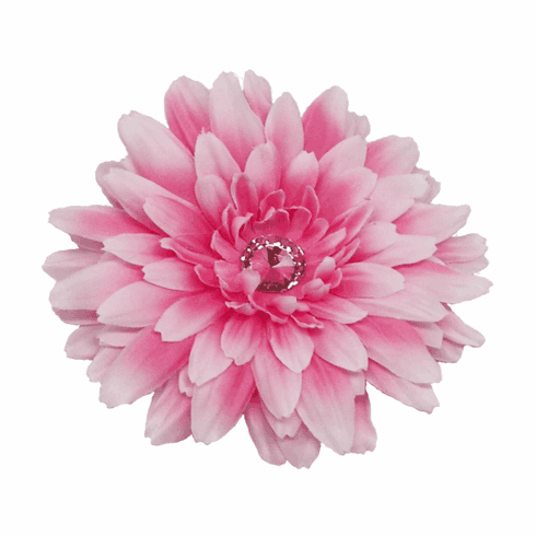 Gerber Daisy Flower on Clip