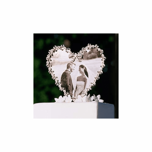 Heart Picture Frame Caketop