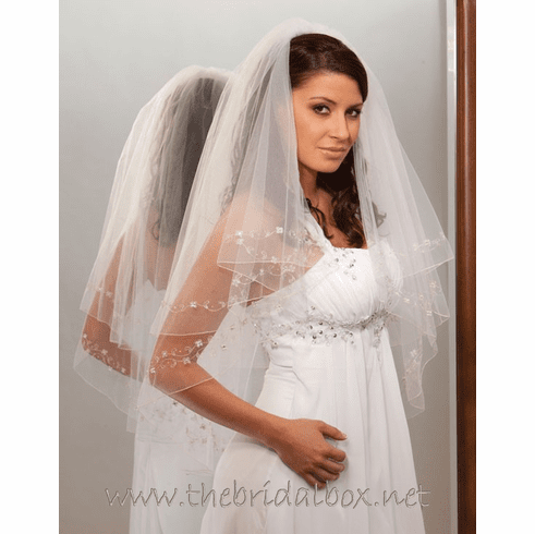 Illusions Bridal Veil - 7028v