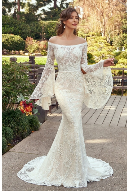 Ivoire Wedding Dress - <br> Aviva