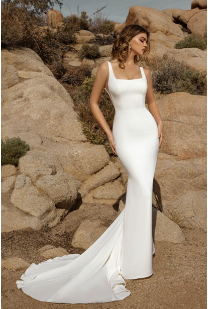 Ivorie Wedding Dress - <br>SAMPLE Demi
