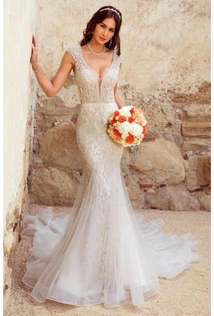 Kitty Chen Couture Wedding Dress - <br> Andrea