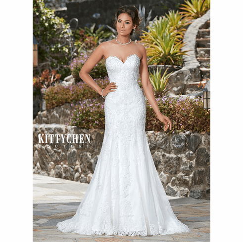 Kitty Chen Couture Wedding Dress – Capris