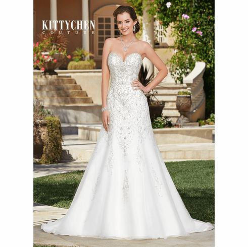 Kitty Chen Couture Wedding Dress -<br>Cassia