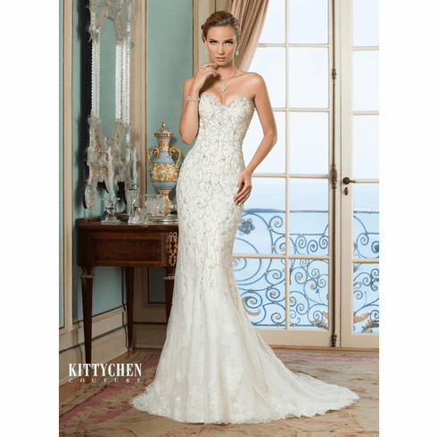 Kitty Chen Couture Wedding Dress - <br> Elsa
