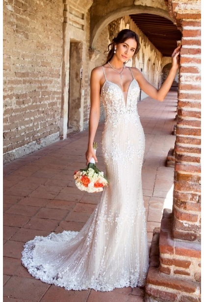 Kitty Chen Couture Wedding Dress - <br> Frida
