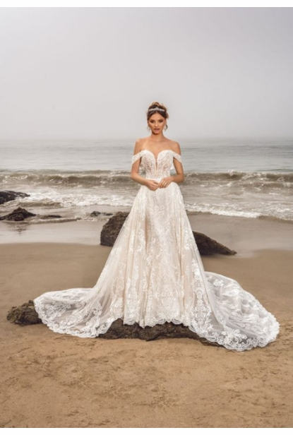 Kitty Chen Couture Wedding Dress - <br> Linda Claire