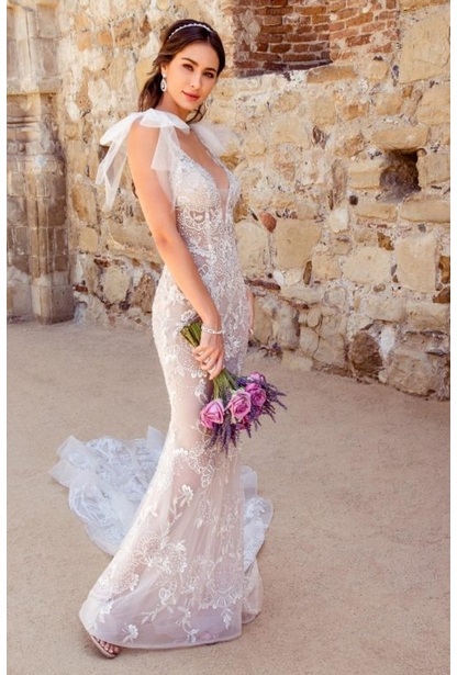 Kitty Chen Couture Wedding Dress - <br> Mariposa
