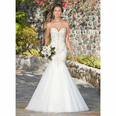 Kitty Chen Couture Wedding Dress – Monique