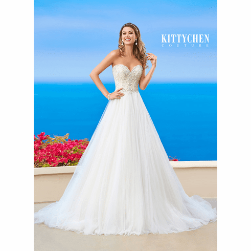 Kitty Chen Couture Wedding Dress – Zoey