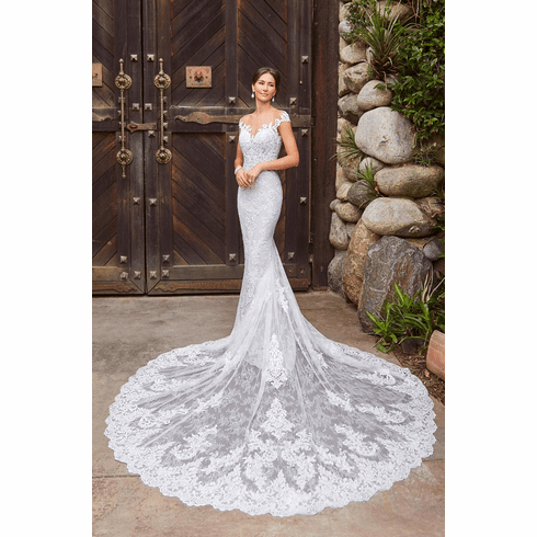 Kitty Chen Wedding Dress - <br> Abby