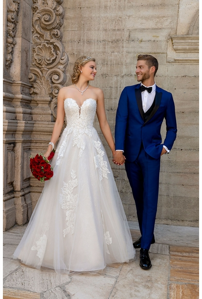 Kitty Chen Wedding Dress - <br> Agatha