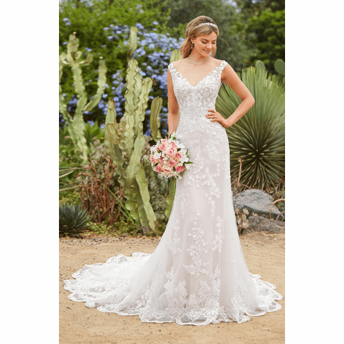 Kitty Chen Wedding Dress - <br> Aldora