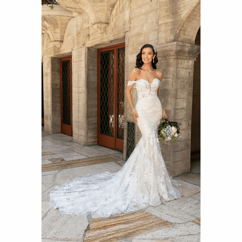 Kitty Chen Wedding Dress - <br> Angelicia
