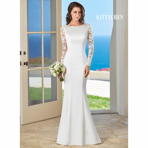 Kitty Chen Wedding Dress – Bailey