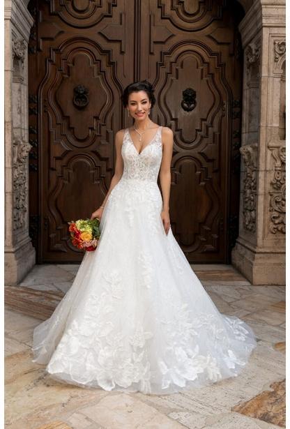 Kitty Chen Wedding Dress - <br> Becca