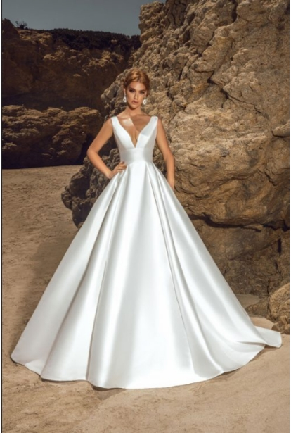 Kitty Chen Wedding Dress - <br> Daphne