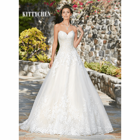 Kitty Chen Wedding Dress – Eliza